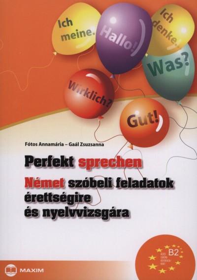 Fótos Annamária - Gaál Zsuzsanna - Perfekt sprechen