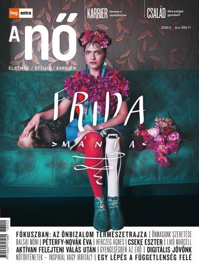 Szörnyi Krisztina  (Szerk.) - HVG Extra Magazin - A NŐ 2018/2