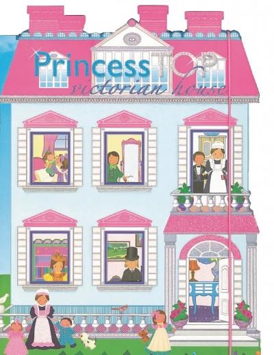 - Princess TOP - Victorian house (kék)
