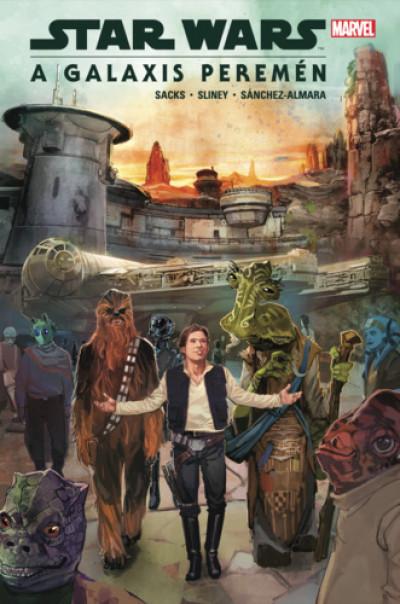 Ethan Sacks - Dono Sánchez-Almara - Will Sliney - Star Wars: A galaxis peremén