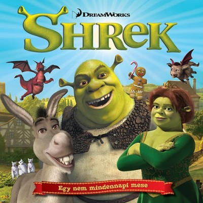 - Shrek - mesekönyv