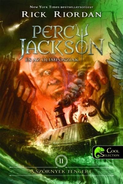 Rick Riordan - Percy Jackson és az olimposziak 2. - A szörnyek tengere - kemény kötés