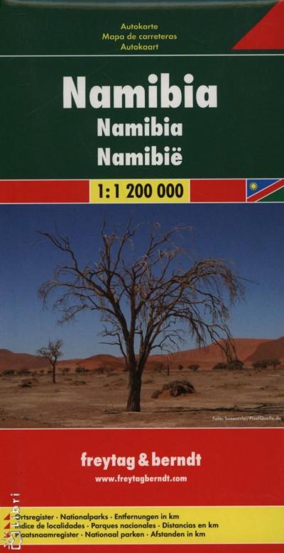 - Namíbia autótérkép