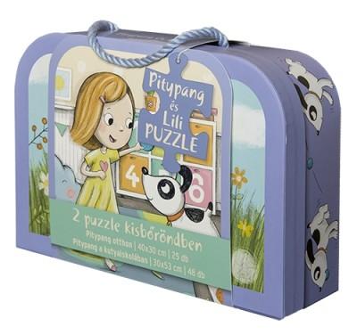 - Pitypang és Lili - bőröndös puzzle
