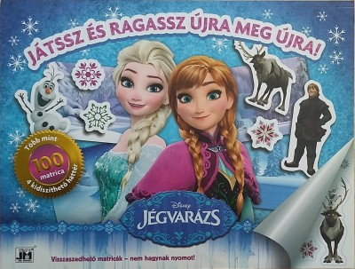 - Disney - Jégvarázs - óriás matrica album