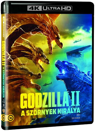 Michael Dougherty - Godzilla II - A szörnyek királya - 4K Ultra HD + Blu-ray