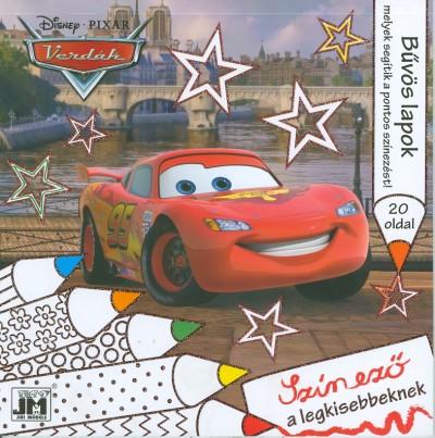 - Disney - Verdák - csillám színező 20x20
