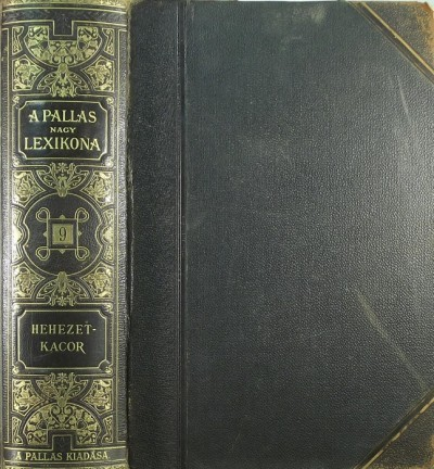 - A Pallas nagy lexikona IX.