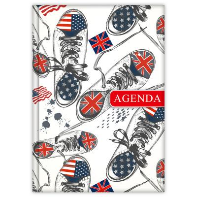 - Dayliner agenda Colors A5 heti - City 2020