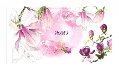 - Magnólia - fekvő zsebnaptár - 2020