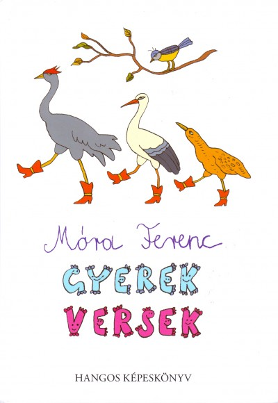 Móra Ferenc - Gyerekversek _ hangos képeskönyv + CD