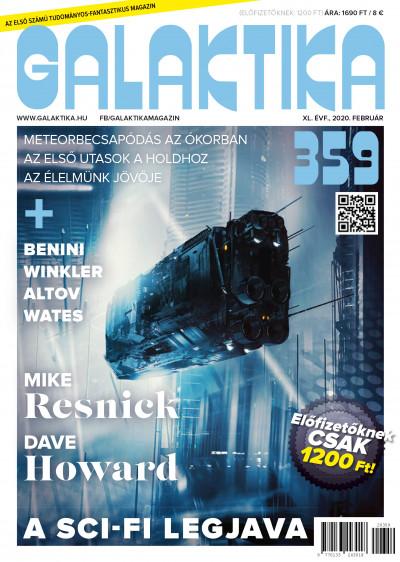 Németh Attila  (Szerk.) - Galaktika Magazin 359. szám - 2020. február