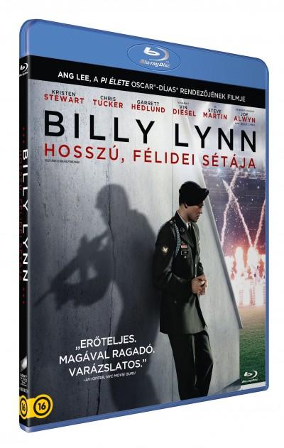 Ang Lee - Billy Lynn hosszú, félidei sétája - Blu-ray