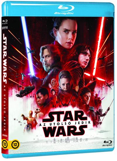 Rian Johnson - Star Wars: Az utolsó jedik - Blu-ray