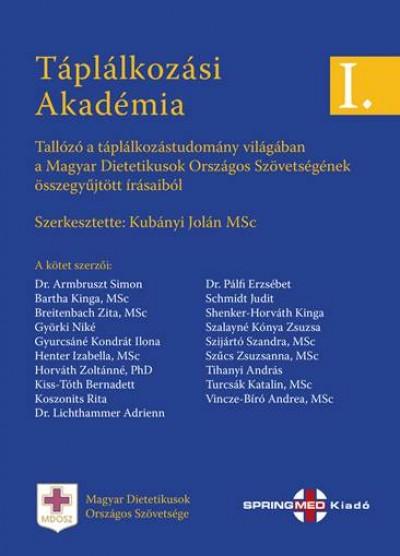 Kubányi Jolán - Táplálkozási Akadémia I.