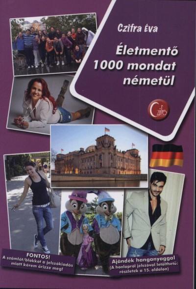 Czifra Éva - Életmentő 1000 mondat németül