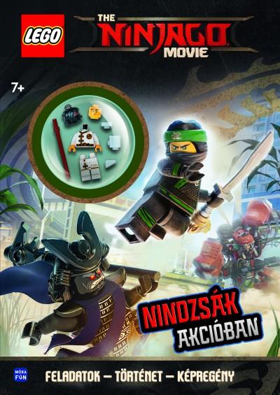 - LEGO Ninjago - Nindzsák akcióban - ajándék minifigurával