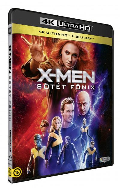 Simon Kinberg - X-Men: Sötét Főnix - 4K Ultra HD + Blu-ray