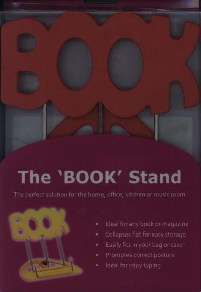 """- Könyvtartó állvány - Piros - """"Book"""""""