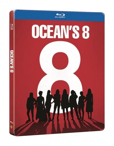 Gary Ross - Ocean's 8: Az évszázad átverése - Steelbook - Blu-ray