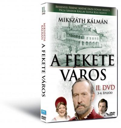 Mikszáth Kálmán - Zsurzs Éva - A fekete város II. - 3-4. epizód - DVD