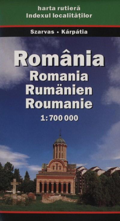 - Románia autótérkép