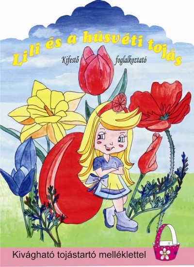 - Lili és a húsvéti tojás - Kifestő foglalkoztató