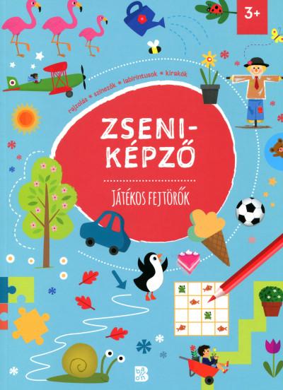 Tóth Eszter  (Szerk.) - Zseniképző - Játékos fejtörők