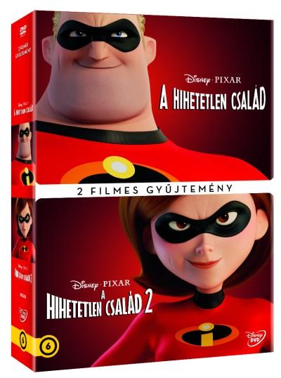Brad Bird - Hihetelen család 2 filmes gyűjtemény - DVD