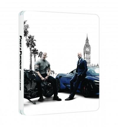 David Leitch - Halálos iramban: Hobbs és Shaw - steelbook 4K Ultra HD + Blu-ray