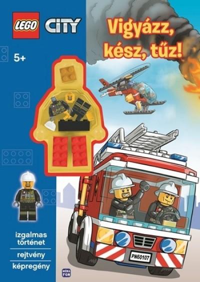 - LEGO City - Vigyázz, kész, tűz! - ajándék minifigurával