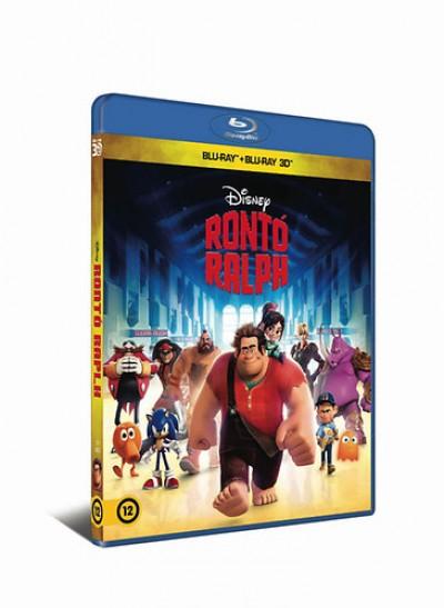 - Rontó Ralph (3D Blu-ray + Blu-ray)