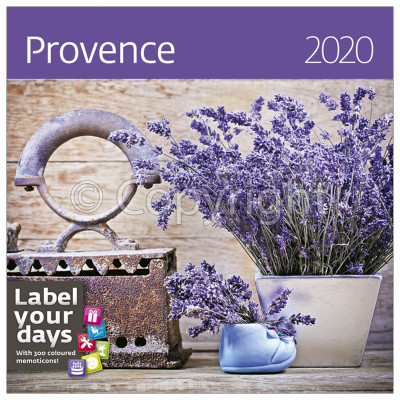 - Dayliner falinaptár - Provence LP 2020