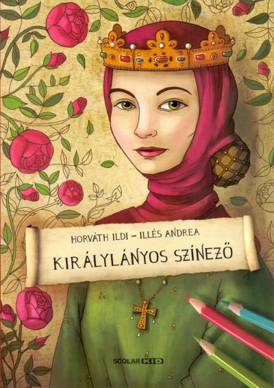 Illés Andrea - Királylányos színező