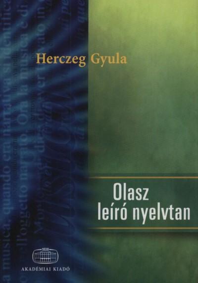 OLASZ LEIRÓ NYELVTAN
