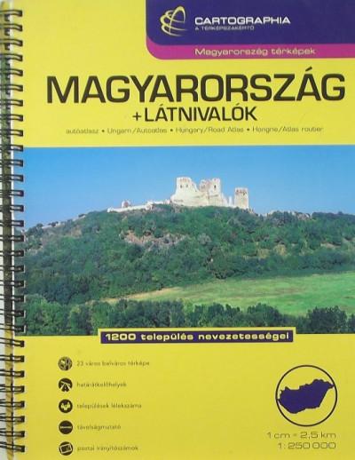 - Magyarország autóatlasz + 23 város
