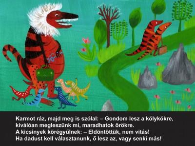 Máray Mariann - Várszegi Adél - Raptormese - Diafilm