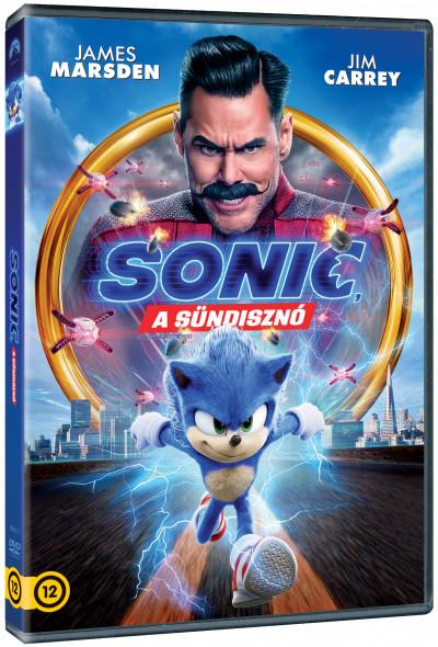 Jeff Fowler - Sonic, a sündisznó - DVD