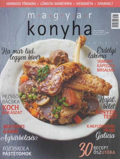 - Magyar Konyha - 2018. november (42. évfolyam 11. szám)
