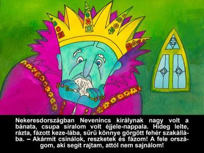 Móra Ferenc - A didergő király - diafilm