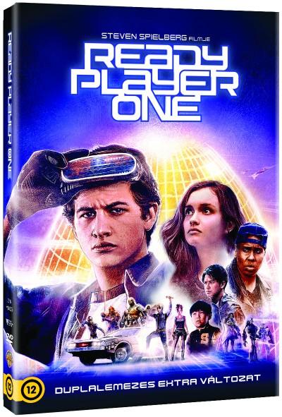 Steven Spielberg - Ready Player One - duplalemezes extra változat - DVD