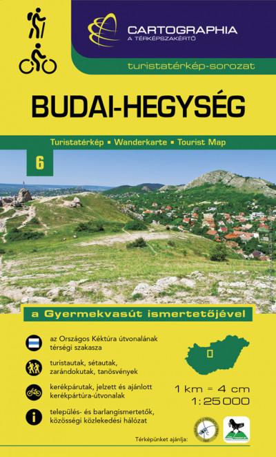 - Budai-hegység turistatérkép