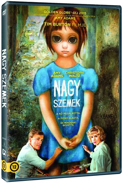 Tim Burton - Nagy szemek - DVD