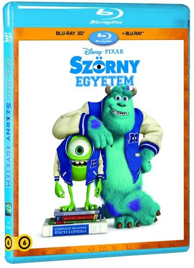 Dan Scanlon - Szörny Egyetem - 3D Blu-ray