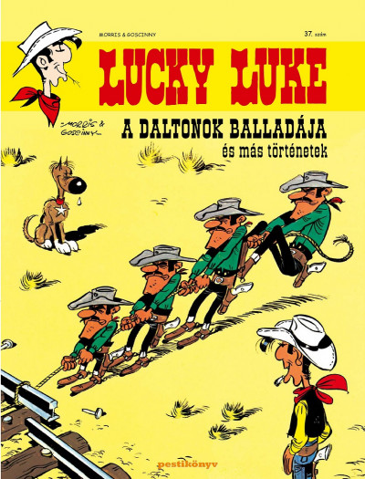 Goscinny - Lucky Luke 37. - A Daltonok balladája