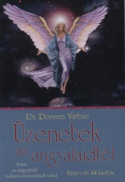 Doreen Virtue - �zenetek az angyalaidt�l - K�nyv �s 44 k�rtya