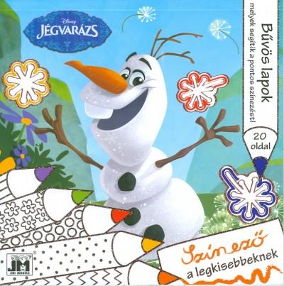 - Disney - Jégvarázs - csillám színező 20x20