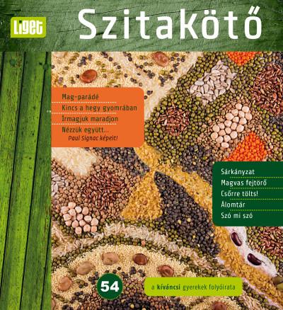 Horgas Judit  (Szerk.) - Szitakötő 2021/54
