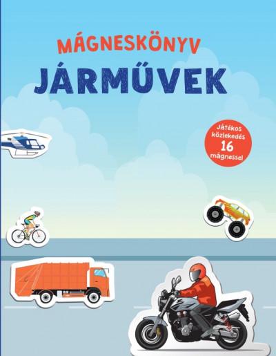 - Járművek - Mágneskönyv