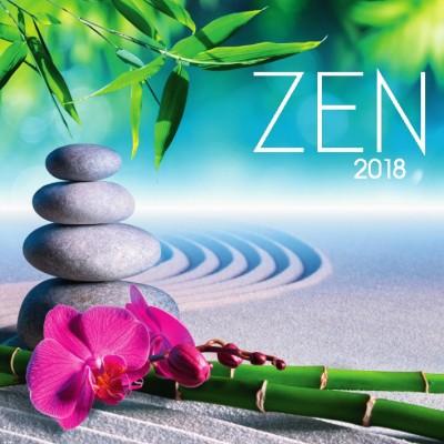 - Zen 33x33 cm - Naptár 2018